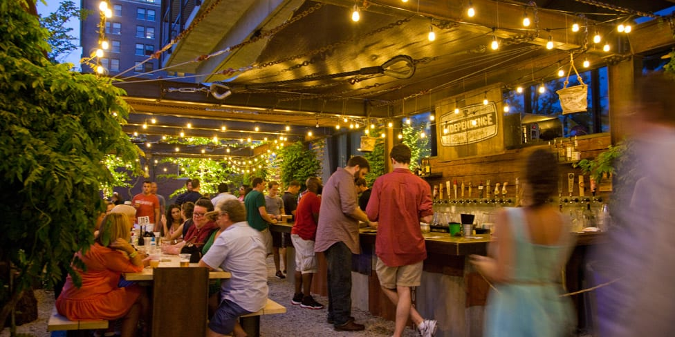 The best beer gardens in philadelphia for What is a beer garden